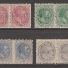 MX-35 revenue stamp -c Shipping note Spain Philippines MNH Gum Pairs