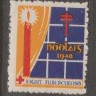 Ireland UK Charity TB Revenue Stamp 11-21 mnh gum extra nice