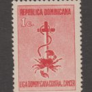 Latin America Cinderella Fiscal Revenue Stamp 1-3-21 Dominican Rep