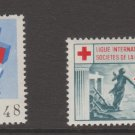 EU Cinderella Charity or Fiscal Revenue Stamp 1-3-21 Red Cross Unknown MNH Gum