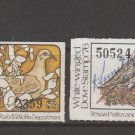 USA Fiscal Revenue stamp 10-17-21 Texas Dove Hunting Bird