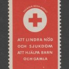 Sweden Fiscal Revenue stamp 10-17b-21 Red Cross mnh