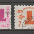 Sweden Fiscal Revenue stamp 10-17b-21 Local Post Used -11a