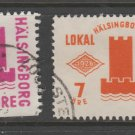 Sweden Fiscal Revenue stamp 10-17b-21 Local Post Used -11b