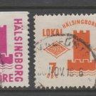 Sweden Fiscal Revenue stamp 10-17b-21 Local Post Used -11e