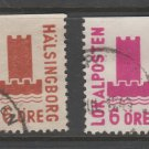 Sweden Fiscal Revenue stamp 10-17b-21 Local Post Used -11f