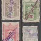 Switzerland Swiss  Fiscal Revenue stamp 10-20-21-2e