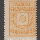 France Fiscal Revenue stamp 10-21-21- mnh gum