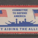 UK USA WWII Ship Aid mnh gum Charity Revenue fiscal stamps 1-30-21