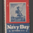 Navy Day Pre WWII? mnh Gum stamp 1-30-21- as seen