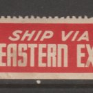 Shipping Label mnh Gum stamp 1-30-21- as seen