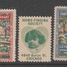 USA Chicago cinderella stamp 2-21-21- mnh