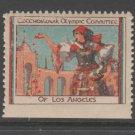 USA Cinderella stamp 2-28-21 CZ 1932 LA Olympics - Czech