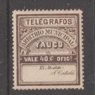 Spain Puerto Rico Telegraph revenue fiscal stamp stamp 3-6-21
