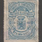 Luxembourg stamp 3-23-21 used- faulty tear- 2d