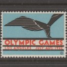 USA 1932 Olympic Fund Raiser Stamp 11-21-20- MNH Gum Extra! NICE -4-8-21-