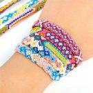 10sets Handmade Weave Bracelets Bohemian Vintage Rope Bracelet