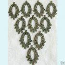 10 Pcs Antique Bronze Chandelier Earring Findings ew12 Free Shipping