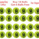 CA Plus 15k Tennis Ball Soft Ball, Buy 18 Balls & Get Free 6 Balls