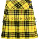 36 - Size - Scottish Ladies Macleod of Lewis Tartan KILTED SKIRT Mini Length Billie Skirt