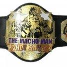 THE MACHO MAN RANDY SAVAGE WRESTLING CHAMPIONSHIP BELT ADULT SIZE