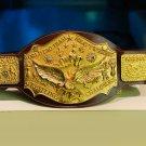 NWA World Tag Team Heavyweight Wrestling Championship Belt Gold Adult Champion