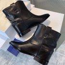 Isabel Marant Ankle Boots Black Cowhide Genuine Leather Isabel Marant Boots Crisi Isabel Marant