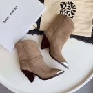 Isabel Marant Boots Paris Runway Marant Lamsy Leather Ankle Boots Isabel Marant Shoes
