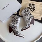 Isabel Marant Boots Pointed Toe Serpentine Western Boots Lamsy Handmade Isabel Marant Shoes