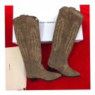 Woman Shoes Isabel Marant Boots Suede Isabel Marant Denzy Embroidered Suede Knee Boots