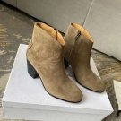 Woman Shoes Isabel Marant Boots Embroidered Ankle Boots 4.5cm Heel