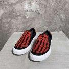Man Shoes Amiri Skeleton Slip-on Sneakers Low-top Fashion Shoes
