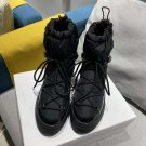 Women Shoes Black Moncler Snow Boots
