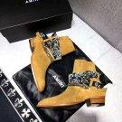 Men's Shoes Amiri Boots Bandana Buckle Ankle Boots