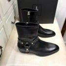 Men's Shoes Saint Paris Laurent Wyatt Leather Harness Boots Studs