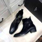 Men's Shoes Saint Paris Laurent Boots Wyatt Jodhpur Boots In Smooth Leather