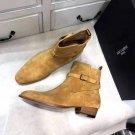 Men's Shoes Saint Paris Laurent Boots Wyatt 30 Jodhpur Boots Ankle Strap Side Buckle
