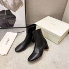 Women's Shoes By Far Boots Sofia Black Genuine Leather Ankle Boots