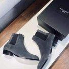 Men's Shoes Saint Paris Laurent Boots Genuine Suede Wyatt Chelsea Boots