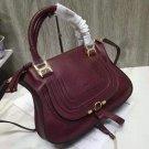 Paris Marcie Handbag Classic Medium Marcie Bag Genuine Leather Handbag In Small Grain Calfskin