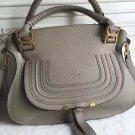 Designer Marcie Handbag Classic Medium Marcie Bag Genuine Leather Tote Luxury Grain Calfskin