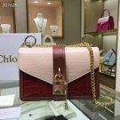 Designer Paris Aby Chain Leather Shoulder Bag Rock Roll Padlock Luxury Bag