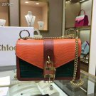 Designer Paris Aby Chain Leather Shoulder Bag Rock Roll Padlock Fashion Luxury Bag