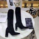 Women's Shoes Black Saint Paris Laurent Boots Ysl Fashion Knee High Boots