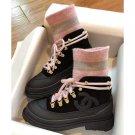 Women's Shoes Paris Cc Martin Boots Stretch Sock Lace-up Coco Boots Fashion
