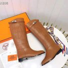 Women's Shoes Jumping Boots Kelly Genuine Real Original Brown Leather Classic Boots