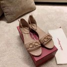 Women's Shoes 3.5cm Heel Italy Fashion Sandals Buckle Strap Luxury