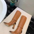Women Shoes Jacquemus Les Bottes Pantalon Boots Knee Brown Paris