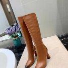 Women Shoes Jacquemus Boots Les Bottes Leon Hautes Boots Brown Leather