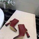Women Shoes Jacquemus Ankle Boots Red Leather Paris Rare